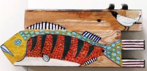 Fisk og fugl 900,-kr.